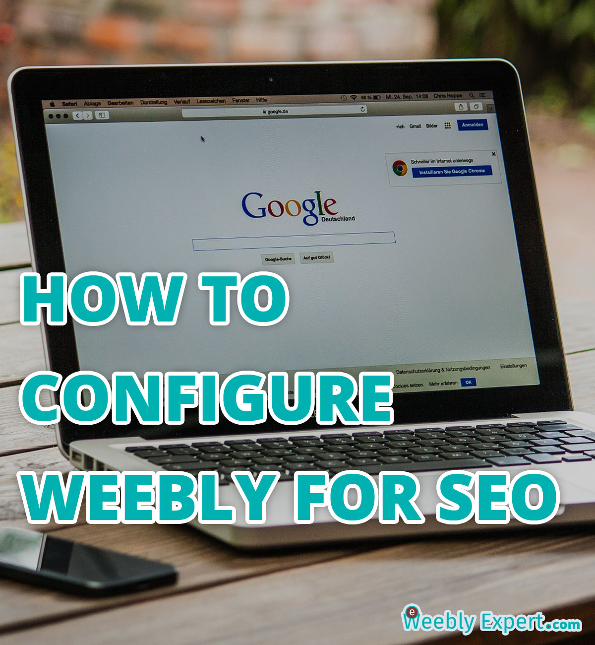 how to configure weebly for seo