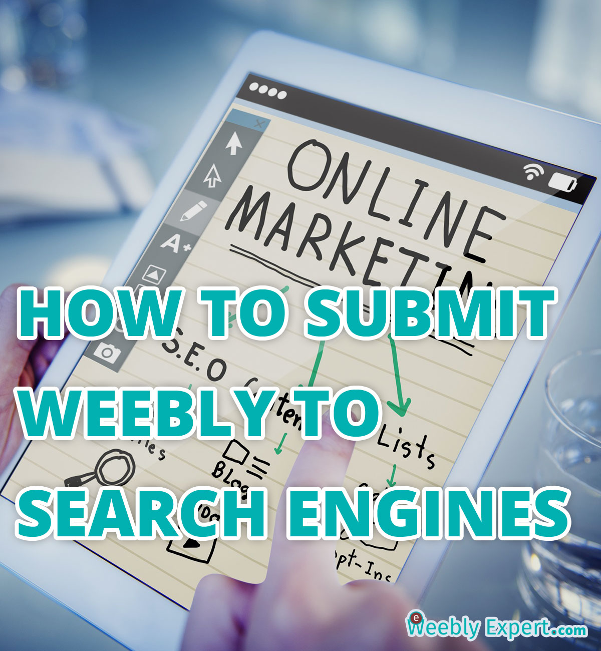 SUBMIT WEEBLY WEBSITE TO SEARCH ENGINES