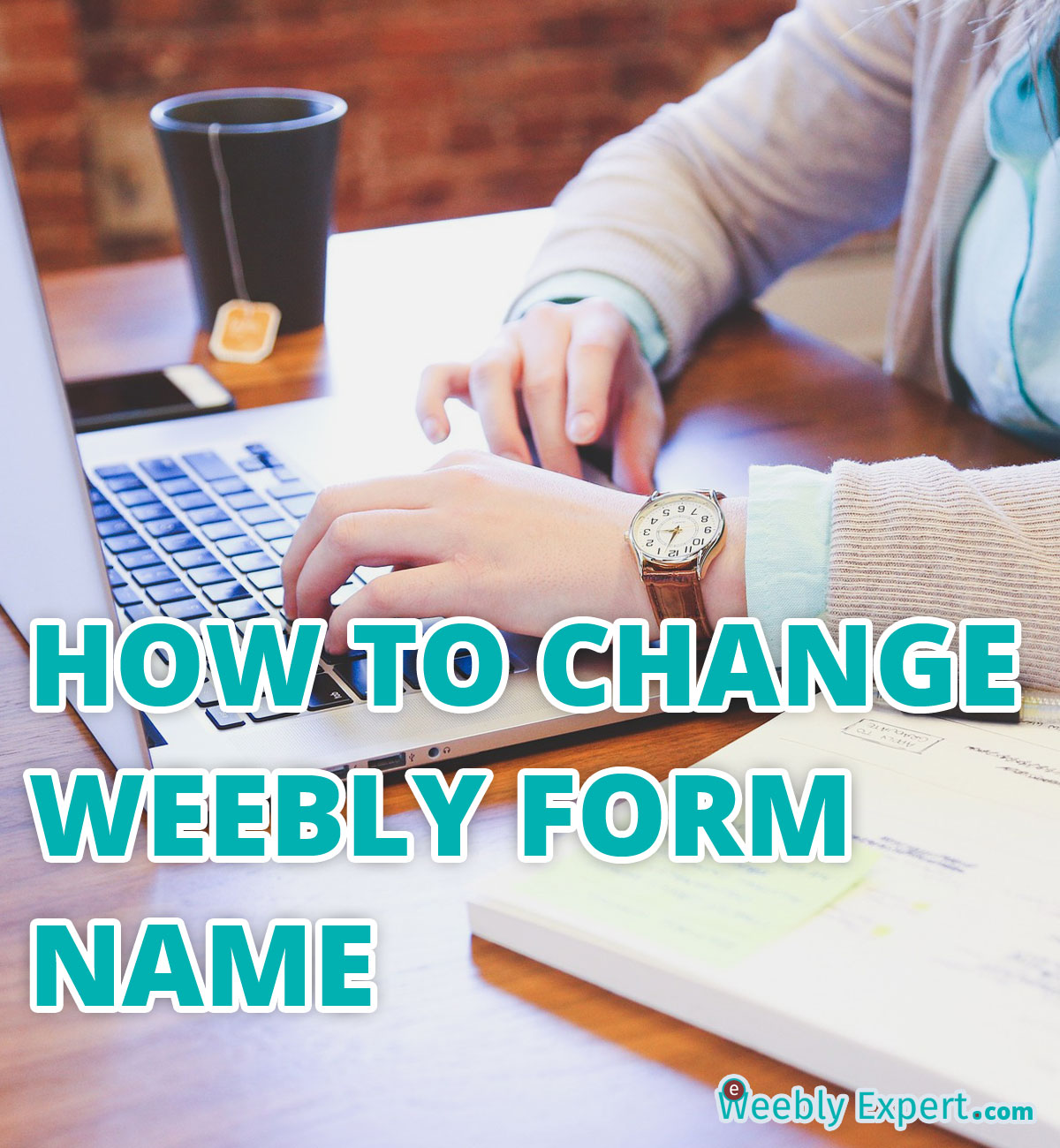 how to change weebly form name