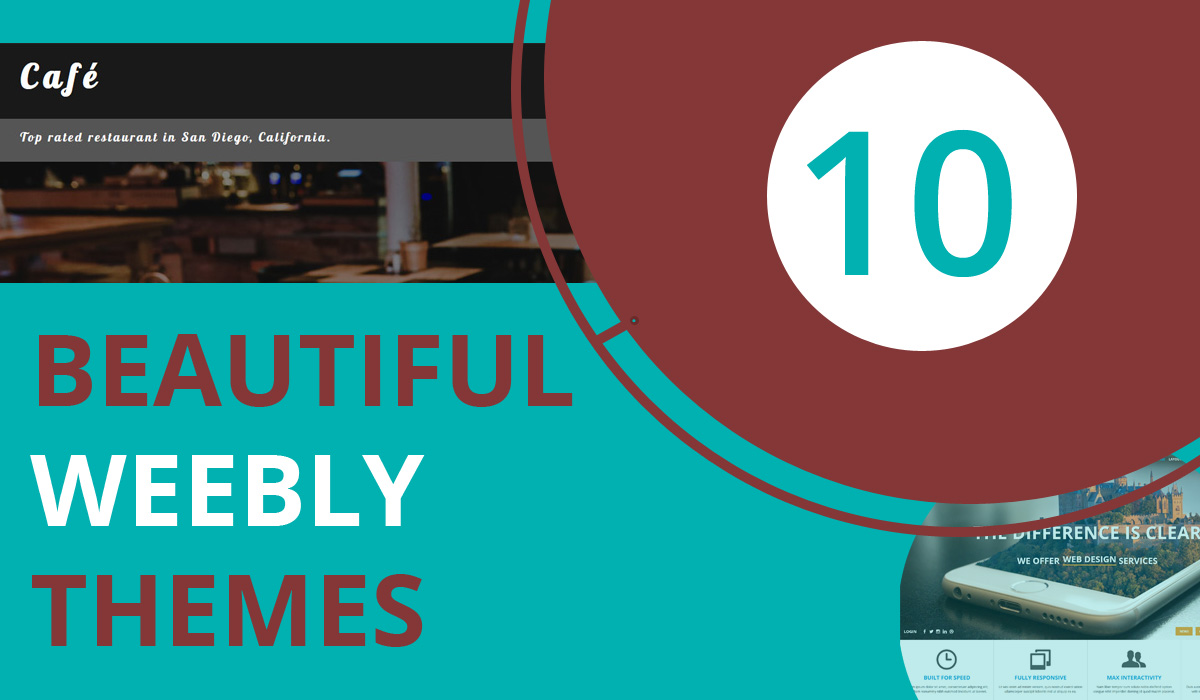 10 beautiful weebly themes for your website